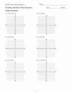 Absolute Value Inequalities Worksheet Answers Best Of