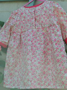 Three quarter length sleeve tunic top age 3 years