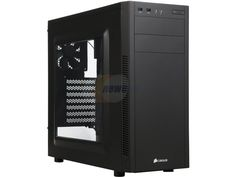 Corsair Carbide Series 100R CC-9011075-WW Black Steel ATX Mid Tower Computer Case ATX (not included) Power Supply ($60)