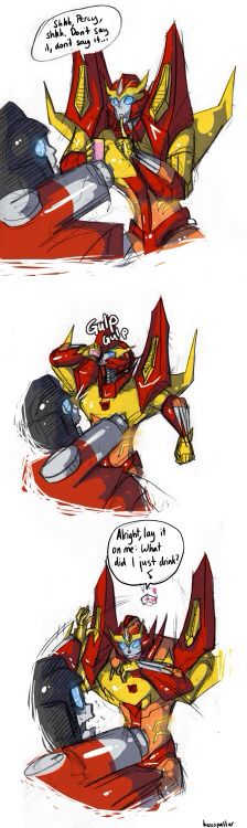 2<< You're wow im such an asshole, Rodimus.