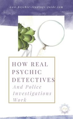 Over the years, I've worked with a lot of psychic detectives on police investigations. Here's how it really works. Spoiler alert: it's nothing like what you see on TV!