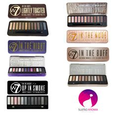 W7 Eyeshadow Palettes 12 colours