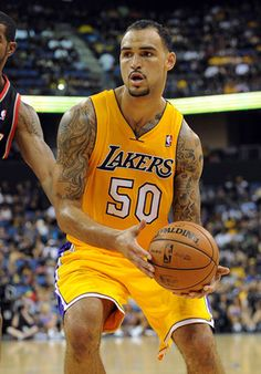 Los Angeles Lakers #50 Robert Sacre -- Center
