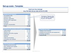 financial plan template example Business Plan Template created by former Deloitte Management Consulta…