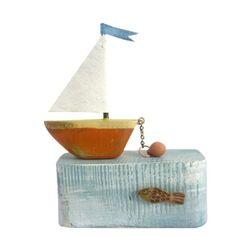 Orange Boat by Frances Noon