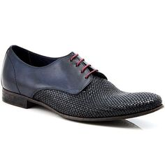 D-Story Custom Leaves Aquila Action Leather Mens Shoes