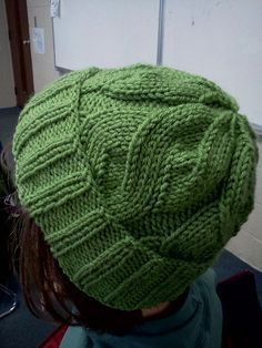 Beanie Hat Knitting Patterns - Free knitting pattern for The Able Cable Hat and more beanie knitting patterns - Loom Knitting, Knitting Patterns Free, Knit Patterns, Free Knitting, Free Pattern, Knitting Stitches, Sweater Patterns, Sewing Patterns, Knit Or Crochet