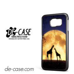 Giraffes Romantic Moon DEAL-4673 Samsung Phonecase Cover For Samsung Galaxy S6 / S6 Edge / S6 Edge Plus