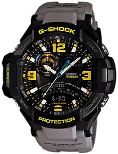 * G-Shock Gravity Defier Digital Compass -Gray