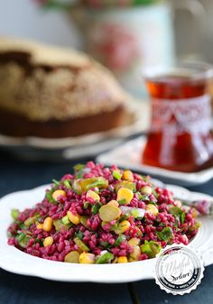 Bulgur Salad with Turnip - Maggie Nelson Recipes Appetizer Salads, Best Appetizers, Vegetable Side Dishes, Vegetable Recipes, Salad Recipes, Dog Food Recipes, Best Foods For Skin, One Pan Pasta, Side Dish Recipes