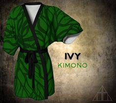 Purple or Green Kimono // Designer / Boho / by WickedSpiritFashion