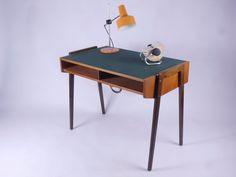 MID CENTURY MODERN LADIES DESK DAMEN SCHREIBTISCH 50er 50s 60er 60s | eBay