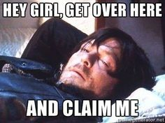 You don't have to tell me twice!!! #thewalkingdead