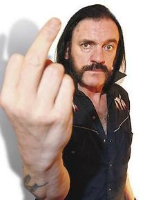 lemmy middle finger - Google Search