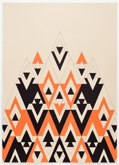 Audrey Rogers Ideas of geometric designs for my pillow design