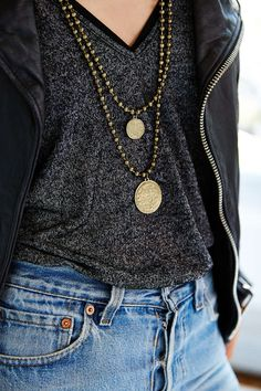 Set Sail Coin Beaded Necklace - Urban Outfitters