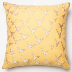 Add contemporary charm and soft colors with the Erina pillow.  Made in India of 100-percent rayon, this pillow can be purchased as cover only, with a plush polyester filled insert, or with an extra soft down feather insert