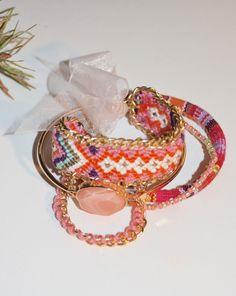 SALE 16.00 Bracelet Set, beaded, charms, crystal beads, friendship bracelet, trending stack-able bracelets, Boho, Bohemian style by JanysJewelryBox on Etsy