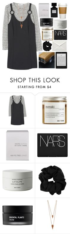 """""""do right by you"""" by akp123 ❤ liked on Polyvore featuring MANGO, Meraki, Ex Voto Paris, NARS Cosmetics, Byredo, Koh Gen Do and Jules Smith"""