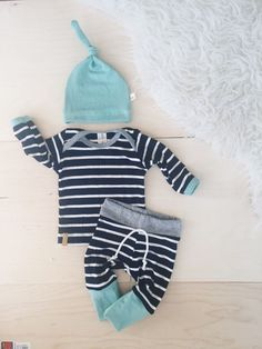 Baby Boy Coming home outfit Newborn baby clothing / by Londinlux