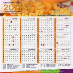 Kalender Kerja Twin Tulipware 2014 | Twin Tulipware SC. Tambun