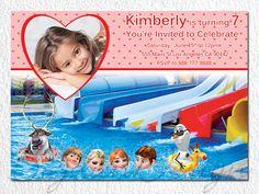 Frozen Birthday Invitation Frozen Birthday Party by BogdanDesign, $7.99