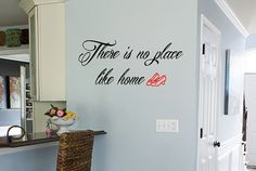 Wizard of Oz There is No Place Like Home Wall Decal