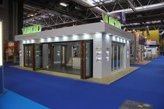 This was our stand at the HBR Show, featuring our 16ft Ultra Open External Bifold doors Oak Bifold Doors, External Bifold Doors, Aluminium Cladding, Door Sets, Folding Doors, Exhibitions, Accordion Doors, Pocket Doors