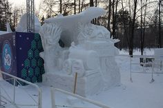 Impresionantes Esculturas De Invierno | Arte Sapporo, Helsinki, World Festival, Snow Sculptures, Snow Art, Island Park, Winter Festival, Harbin, Snow And Ice