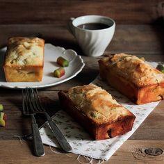 Rhubarb Vanilla PoundCake / Pastry Affair