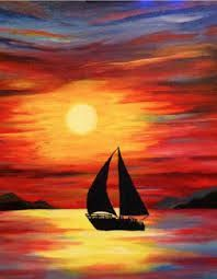 Image result for acrylic painting for beginners step by step