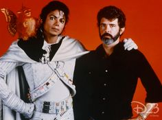 Captain EO, Disney's first theme park collaboration with Lucasfilm.
