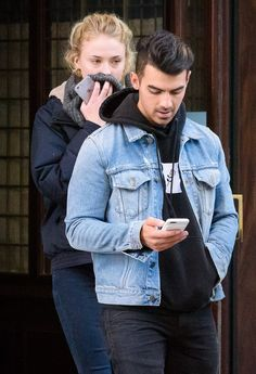 Joe Jonas and Sophie Turner were snapped leaving an NYC hotel together Wednesday, November 23, just ahead of the Thanksgiving holiday — read more