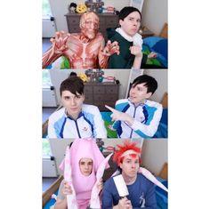 Dan and Phil Anime