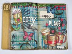 Annette's Creative Journey: 12 Tags of 2015 - My June Art Journal Pages