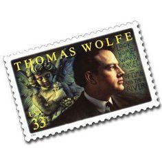 2000 33c Thomas Wolfe Scott 3444 Mint F/VF NH   www.saratogatrading.com