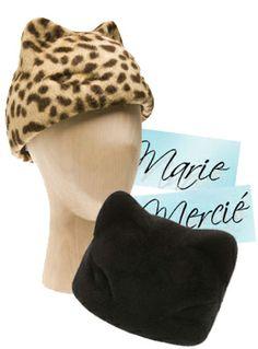 Marie Mercié Felted cat hat