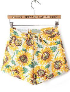 Shorts bolsillos girasol-amarillo EUR€20.58