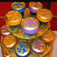 Tory Burch cupcakes