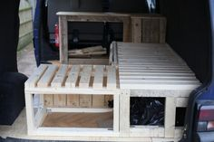 wooden interior build. - VW T4 Forum - VW T5 Forum