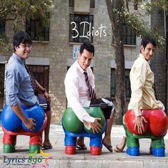 #SONG #LYRICS @ Lyrics896.com #BOLLYWOOD #LYRICS of #3_IDIOTS http://lyrics896.com/bw/movie/3-Idiots-(2009)