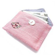 silk tea bag envelope