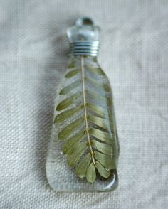 sprig resin pendant | Flickr - Photo Sharing!