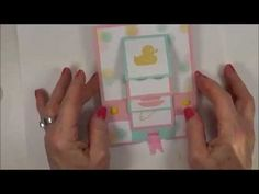 """My latest Video from my """"Wow That's Cool"""" Video Series. In this Video, I make my own Custom Baby Cardstock and also make a Baby Waterfalll Card using the something for Baby Stamp Set. A complete list of supplies can be found on my blog @ http://craftyandcreativeideas.blogspot.com/2014/07/something-for-baby-waterfall-card.html"""
