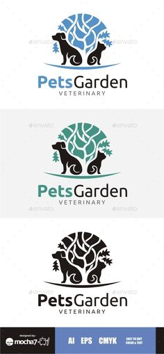 Veterinary Pet Shop Logo | GraphicRiver