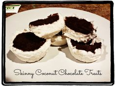 Skinny Coconut Chocolate Treats(S)