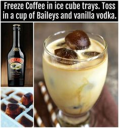 alcoholic coffee drinks Apple Cider is part of Apple Cider Cocktails That Are Perfect For The Fall - Baileys Vanilla Vodka Coffee Drink Liquor Drinks, Cocktail Drinks, Cocktail Recipes, Alcoholic Drinks, Vodka Cocktails, Lemonade Cocktail, Coffee Cocktails, Raspberry Lemonade, Margarita Recipes