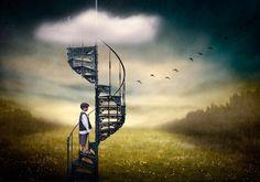 Stairway to the Dream World...Beautiful and Dark Surreal Art (40 photos) - My Modern Metropolis