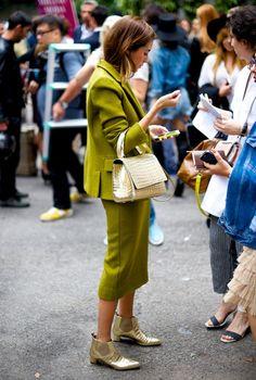 Неделя моды в Милане S/S 2015: street style. Часть II, Buro 24/7
