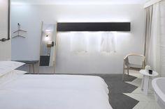 Hotel bedroom design for Sleep, NoChintz Hotel Bedroom Design, Hospitality Design, Sleep, Interior Design, Furniture, Home Decor, Nest Design, Hotel Room Design, Decoration Home